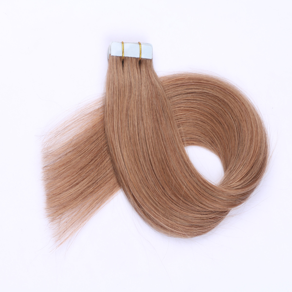 100% virgin human hair best hair extension tape JF197