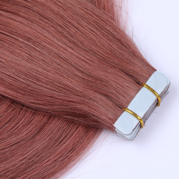 Double Drawn Seamless Tape Human Hair Extensions JF049
