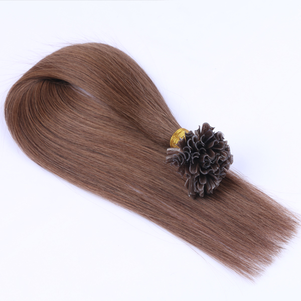 Top Quality Nail Tip Hair Extensions JF084